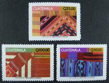 Guatemala 2015 Textilien Textiles Folklore Freimarken Hohe Werte Postfrisch MNH