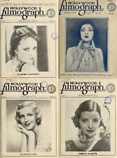 175 Old Issues Of Hollywood Filmograph - Weekly Periodicals (1929-1934) On Dvd
