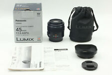 [Mint in BOX] Leica Panasonic LUMIX H-ES045 45mm f2.8 Mega O.I.S Lens From JAPAN