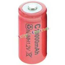 1x C 10000mAh Ni-MH Colore Rosso batteria ricaricabile Stati Uniti d'America