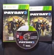 Payday 2 (Microsoft Xbox 360, 2013) Xbox 360 Game - Great condition - FREE POST