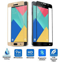 Full Coverage 3D Curved Front Tempered Glass Screen Protector For Samsung A5 A7