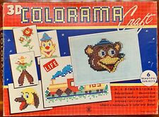 COLORAMA CRAFT 3D, Vintage 1950's, Hasbro, Hassenfeld Bro. #1870