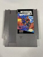 Mission Impossible (Nintendo Entertainment System NES) Clean Tested Works GREAT
