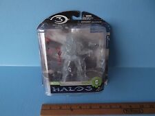 "Halo 3 Series 3 Spartan Soldier ODST 6""in Posable Action Figure clear variant"