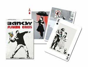 Banksy set of 52 playing cards + jokers (gib)