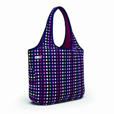 BUILT Essential Designer Neoprene Tote Bag, Dot#9 Beach bag Office/Notebook bag