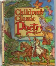 CHILDREN'S CLASSIC POETRY Illustrated ROBIN LAWRIE Kids Book LEWIS CARROLL KEATS