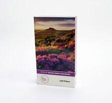 Lee Filter resina conjunto de filtro de densidad neutra Grad (medio borde) 100x150mm. nuevo