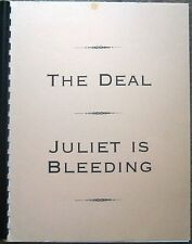 "Due South Fanzine ""The Deal/ Juliet Is Bleeding"" GEN Novel"