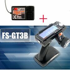 Flysky FS-GT3B 2.4G 3CH Transmitter+ Receiver Radio Control for RC Car Boat D7G0