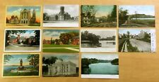 Lot of 11 Antique & Vintage Postcards ALL CITY OF HUDSON, NY 1907-1944
