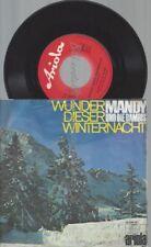 """7""""  MANDY UND DIE BAMBIS WUNDER DIESER WINTERNACHT // WER"""