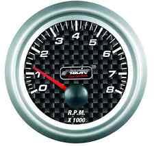STRUMENTO CARBON LOOK CONTAGIRI 0-8000 SIMONI RACING TM/K
