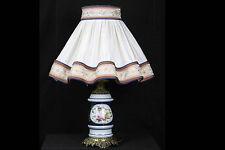 Lampe en porcelaine de Valentine / Lamp, valentine french porcelain