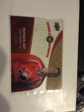 2010 Upper Deck World Of Sports Patrick Roy #CC19 Clear Competitors 13/500