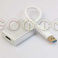 USB 3.0 to HDMI HD 1080P Converter Cable Display Adapter For PC Laptop HDTV LCD