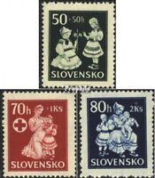 Slowakei 112-114 (kompl.Ausg.) postfrisch 1943 Kinderhilfe