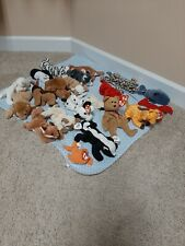 Ty Beanie Babies Curly The Bear Plush , plus other beenie babies