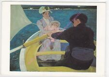CP ART TABLEAU MARY CASSATT The Boating Party