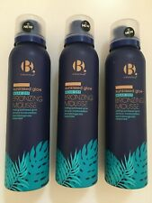 3 B Superdrug SUNKISSED GLOW TAN Wear Off Bronzing Mousse Face & Body 150ml X3