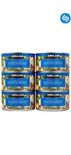 6 cans - Kirkland Premium Chunk Chicken Breast 12.5oz Packed in Water