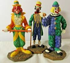 HOT DOG, ARISTOCRAT, KANDY the CLOWN - Princeton Gallery -1995 - Painted Figure
