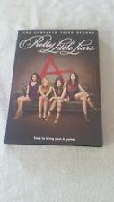 Pretty Little Liars COMPLETE THIRD SEASON TV Drama 5 Disc DVD Set sealed NEW