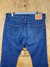 LEVI'S, Mens W36 L30, 501 CLASSIC Fit, Blue Wash, Denim Jeans,*VGC*