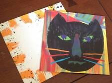 Jaguar Paper Sample Promotion Cat Art Book 1991 Weyerhaeuser Paper Co - Scarce