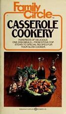 Family Circle Casserole Cookery Family Circle Editors Mass Market Paperback