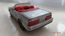 Corgi juniors majorette matchbox size toy car Cadillac Allante convertible coupe