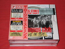 ROLLING STONES FROM THE VAULT 71 Marquee Club Brussels Affair JAPAN CD + DVD