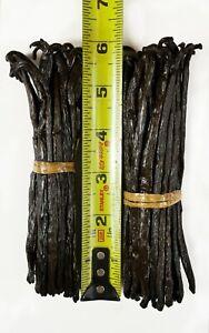 "Gourmet - Bourbon - Grade A - Prime Vanilla Beans from Madagascar (6""+)"