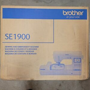 Brother SE1900 Sewing and Embroidery Machine - White NEVER OPENED NEW