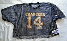 VTG San Diego Chargers #14 (Dan Fouts?) Champion Mesh Practice Jersey - Size XL