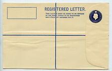 Gambia postal stationery registered letter envelope unused (U782)