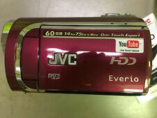 JVC EVERIO GZ-MG630 HARD DISK CAMCORDER RED BRAND NEW PAL 110-220 Volt