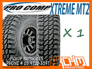 285 75 R16 PRO COMP XTREME MT2 MUD TERRAIN TYRES 4WD/SUV/LT - PICKUP BAYSWATER