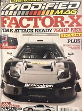 Modified Mag Magazine Factor-X '08 Cobalt June 2008 020518nonrh