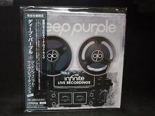 DEEP PURPLE The Infinite Live Recordings Vol. 1 JAPAN MINI LP 2CD Black Sabbath