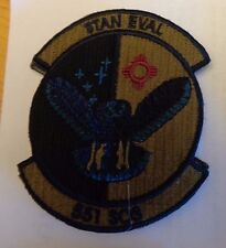 USAF PATCH,551ST SPECIAL OPERATIONS SQN,STAN EVAL.MULTI-CAM,SCORPION,HOOK LOOP