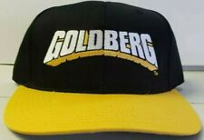 NEW! VINTAGE GOLDBERG  (WCW) 1990'S SNAPBACK WRESTLING HATS.