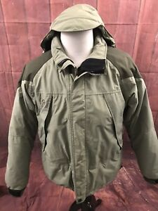 Mountain Hardwear Mens Size Medium Conduit Nylon Hooded Coat Full Zip Pockets