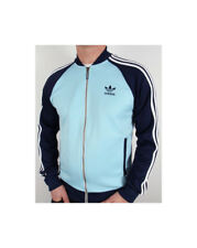 Adidas Originals Track Superstar Jacket Jacke Blush Blue/ Navy in XL- Rarität