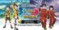 ✨Shiny & Non-Shiny Crown Tundra Pokedex✨ - Pokemon Shield & Sword - *Custom OT*