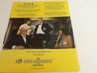 Life Aquatic Bill Murray Wes Anderson Steve Zissou  RARE  OSCAR AD 2