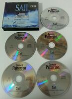 AUDIO BOOK CD - Sail By James Patterson & Howard Roughan X5 CDs 2008 Audio Book