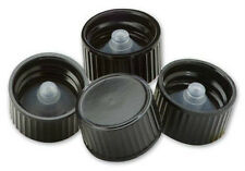 PolySeal Black Phenolic Cone Lined Caps (Lot of 50) (You choose cap size)