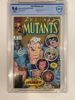 New Mutants 87 CBCS 9.6 Rob Liefeld Gold 2nd Print 1990 First Cable Marvel Comic